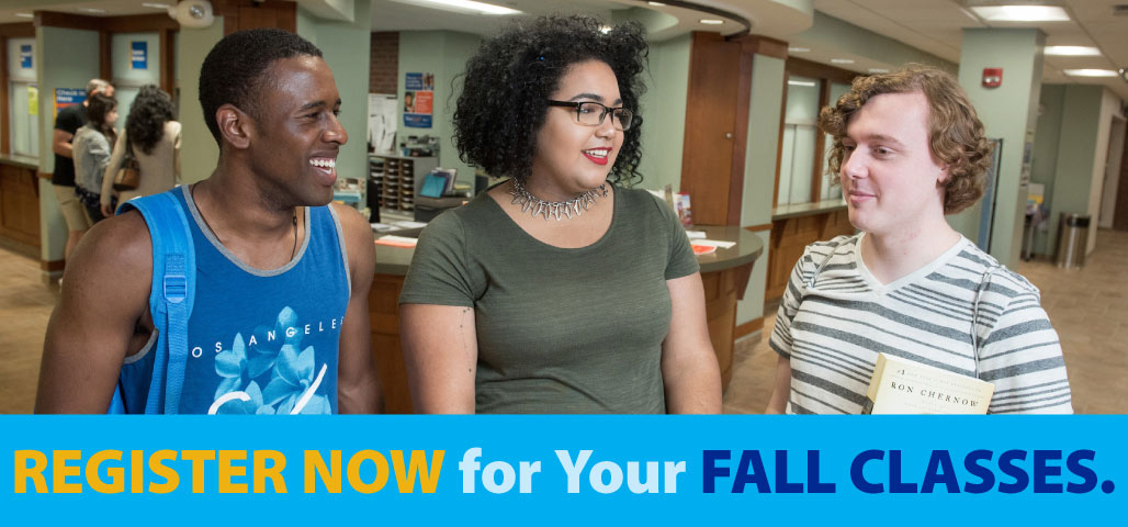 Register for Your Fall Classes