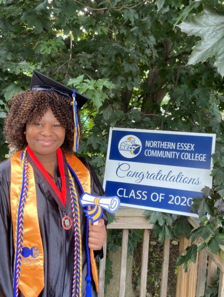 Mathurin Hygina Associate in Arts General Studies Health Specialization 2020 graduate