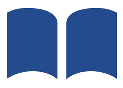 the Center for Liberal Arts logo, an open book