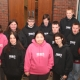 TOPS Students Receive Knights Sweatshirts