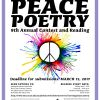 Submissions Sought for 9th Annual Peace Poetry Contest