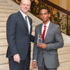 NECC Student is Honored by Governor at the State House