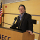 Dubus was Guest Speaker at Tea