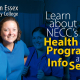 NECC Plans Health Care Information Sessions