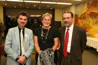 Richard Padova, Kathy Rodger, Jorge Santiago