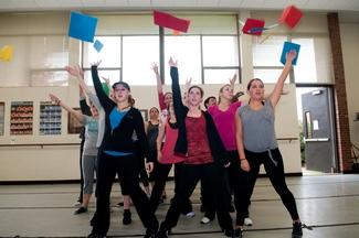 NECC Student Dancers