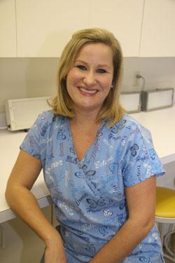 Christina Nicolo graduate of the phlebotomy program and NECC nursing student