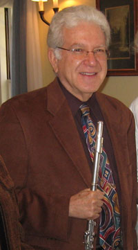 Mike Finegold artistic director of the Essex Chamber Music Players
