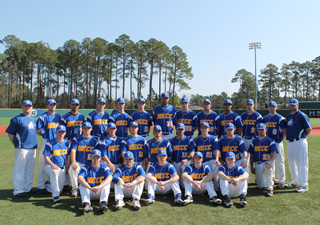 2012 NECC Knights baseball team