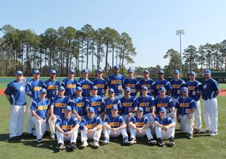 2012 NECC Knights baseball team