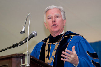 UMass Chancellor Marty Meehan