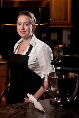 Cake decorator Jenn Stone-Grimaldi