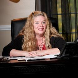 NECC paralegal studies graduate Lori Page