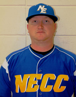 NECC Baseball Coach Chris Shanahan is moving on.