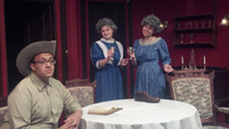 Cast members of Arsenic and Old Lace