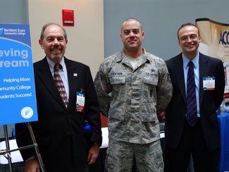 NECC Student is honored for Military Service at National Conference