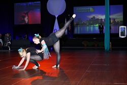NECC Dancer Performs Aerial Ballet at Hynes Convention Center