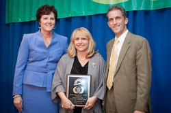 NECC Administrator Honored with Service Award