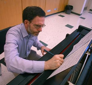 NECC English instructor Lenny Cavallaro