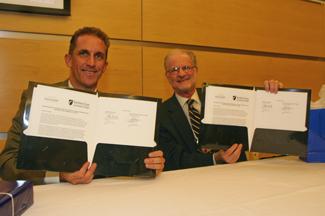NECC and Gallaudet University presidents