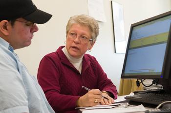 Linda Murphy, NECC curriculum coordinator for Developmental Mathematics