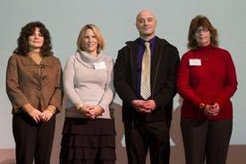 New employees included Lori Weir, Allison Gagne, Mark Mitchell, and Carolyn Fox