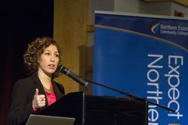 Shalimar Quiles, a 2008 graduate of NECC