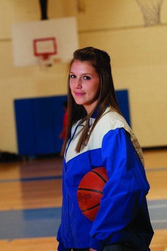 Athletics and Academics Keep Lawrence Woman in the Game