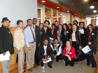 NECC Students Spend the Day at New Balance
