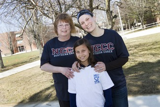 Three Generation of NH Family will Run in NECC's Campus Classic