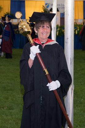 Grand Marshal Linda Desjardins