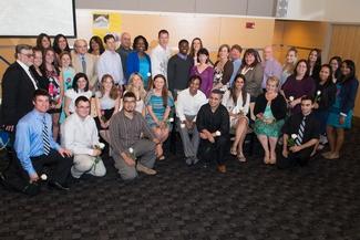 NECC Inducts 33 Students into Phi Theta Kappa National Honor Society