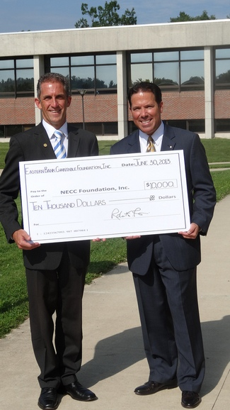 Eastern Bank Donates to NECC