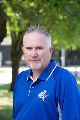 NECC Softball Coach Robert Gillespie