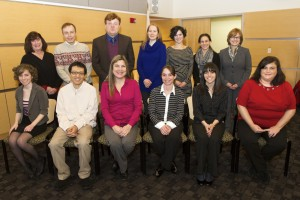 Several new employees were welcomed to the college during the January convocation.