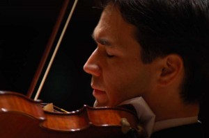 Violinist performs with ECMP