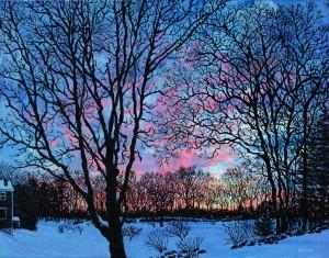 Oil on canvas by Mark Reusch