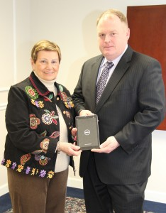 Four Dell tablets donated to NECC