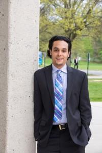 NECC Engineering student Ismael Alvarez