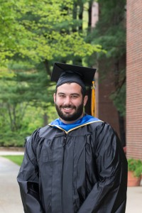 Salem, NH, resident and recent NECC graduate Daniel Peters is Rivier College bound.