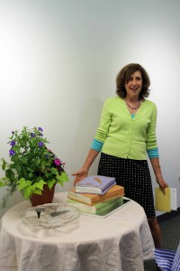 Linda Hummel-Shea at her retirement party