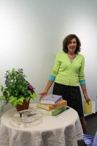 Linda Hummel-Shea at her retirement party