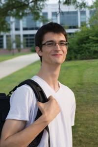 NECC Engineering Science student Milovan Jovic