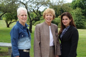 Susan Smith, Mary Beth Nason, and Lina Garcia Kosko quota club newsroom