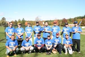 The 2010 NECC alumni baseball team.