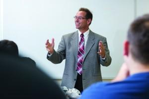 Coordinator of the NECC Engineering Program, Professor Paul Chanley