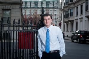 NECC Business Transfer graduate Lucas Lombardo