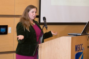 Professor Marcy Vozella discusses changes coming to NECC.