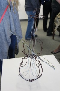 """Wire Violin"" created by  Ryan Silva."