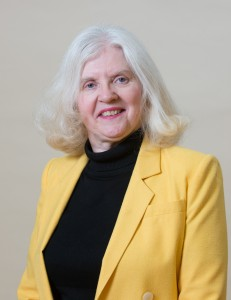 Professor Pam Donahue, faculty advisory to theNorthern Essex Community College Beta Omicron chapter